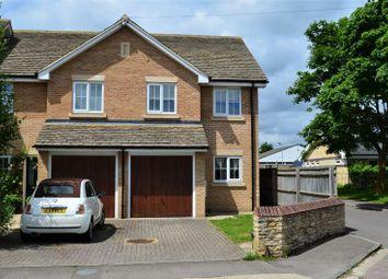 Thumbnail 3 bedroom semi-detached house to rent in Back Lane, Eynsham, Witney