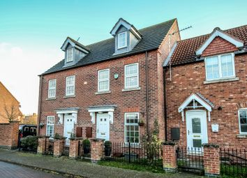 Thumbnail 3 bed town house for sale in Woodrow Place, Spalding