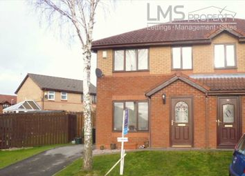 Thumbnail 2 bed semi-detached house to rent in Mendip Close, Winsford