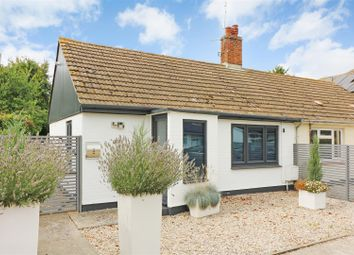 Thumbnail 1 bed semi-detached bungalow for sale in Lower Street, Tilmanstone, Kent