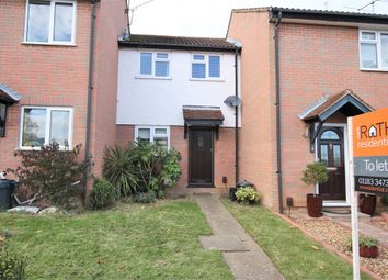 Thumbnail 1 bed terraced house to rent in Owl Close, Wokingham, Berkshire