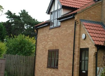 Thumbnail 3 bedroom terraced house to rent in Thirlwall Drive, Fordham, Ely