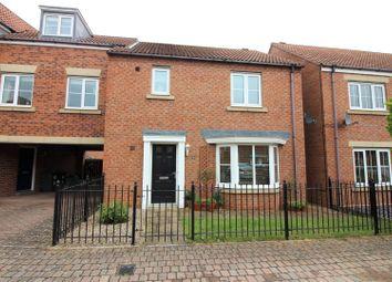 Thumbnail 3 bed semi-detached house for sale in Skerningham Avenue, Darlington
