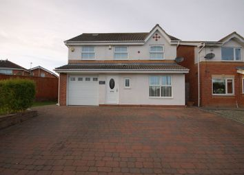 Thumbnail 4 bedroom detached house for sale in Lansdowne Road, Forest Hall, Newcastle Upon Tyne