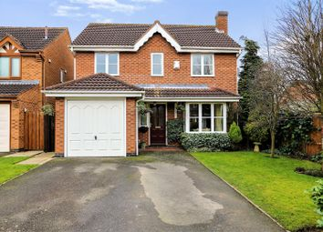 Thumbnail 4 bed detached house for sale in Didcott Way, Appleby Magna