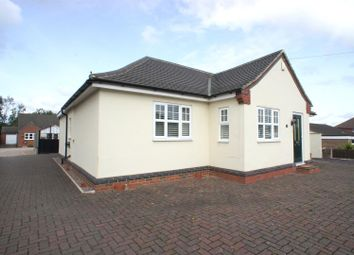 Thumbnail 4 bed detached bungalow to rent in Burton Road, Woodville, Swadlincote