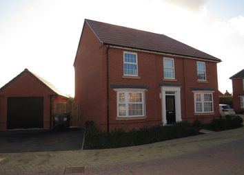 Thumbnail 4 bed detached house for sale in Busby Mead, Marston Moretaine, Bedford