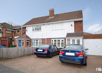 Thumbnail 3 bed semi-detached house for sale in Brownley Road, Shirley, Solihull