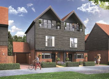 Chilmington Lakes, Great Chart, Ashford TN23. 3 bed semi-detached house for sale