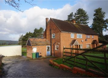 Thumbnail 3 bed semi-detached house for sale in Reabrook, Minsterley, Nr Shrewsbury