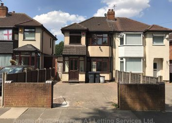 Thumbnail 3 bed semi-detached house to rent in Whitecroft Road, Sheldon, Birmingham