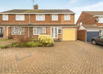 Thumbnail 4 bedroom semi-detached house for sale in Hadrian Avenue, Dunstable, Bedfordshire