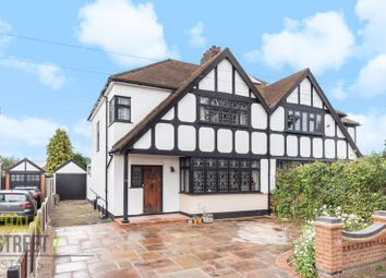 Thumbnail 3 bed semi-detached house for sale in Gaynes Park Road, Upminster