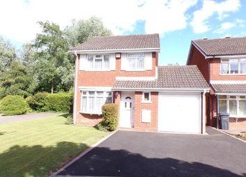Thumbnail 3 bed detached house for sale in Marshwood Croft, Halesowen, Birmingham, West Midlands