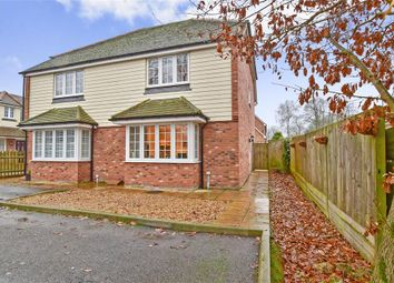 Thumbnail 3 bed semi-detached house for sale in Nine Oaks Court, Maidstone, Kent