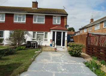 Thumbnail 3 bed end terrace house for sale in Roselands Close, Eastbourne