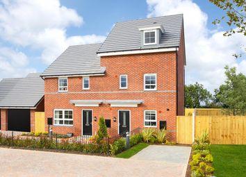 "Thumbnail 4 bedroom semi-detached house for sale in ""Woodcote"" at Braeburn Drive, Appleton, Warrington"