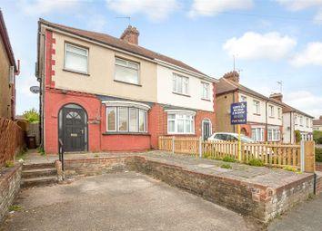 Thumbnail 3 bedroom semi-detached house for sale in Maidstone Road, Rainham, Kent