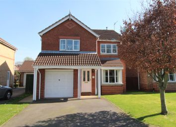 Thumbnail 4 bed detached house for sale in Cromwell Close, Worksop