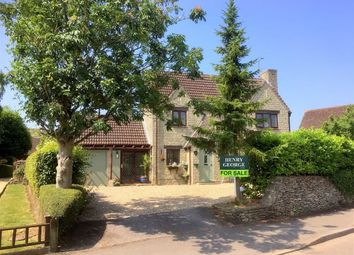Thumbnail 4 bedroom detached house for sale in Hill Hayes Lane, Hullavington, Wiltshire