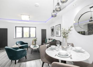 Thumbnail 2 bed flat for sale in Buckingham Gardens, Thornton Heath
