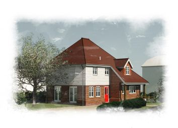 Thumbnail 4 bed detached house for sale in Oak Avenue, Deanland Wood Park, Golden Cross, Hailsham