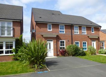 Thumbnail 3 bedroom semi-detached house for sale in Patrons Drive, Elworth, Sandbach