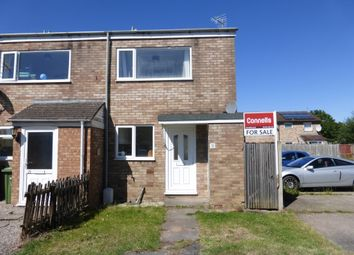 Thumbnail 2 bed end terrace house for sale in Blakemore Close, Newton Farm, Hereford