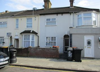 Thumbnail 3 bed end terrace house to rent in Iddesleigh Road, Bedford