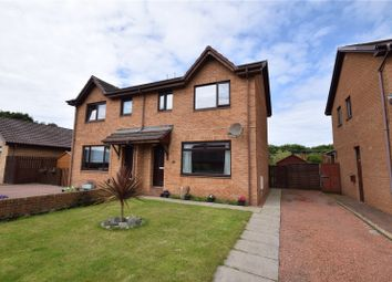 Thumbnail 3 bed semi-detached house for sale in Campbell Drive, Troon, South Ayrshire