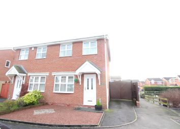 Thumbnail 2 bed semi-detached house for sale in Althrop Grove, Longton, Stoke-On-Trent