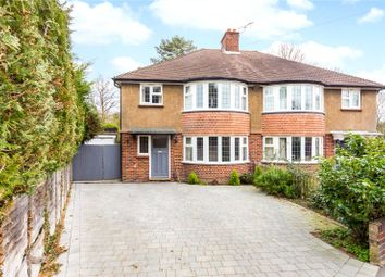 Thumbnail 3 bed semi-detached house for sale in Digdens Rise, Epsom, Surrey