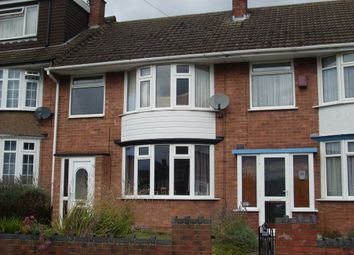 Thumbnail 3 bed terraced house to rent in Armscott Road, Wyken, Coventry