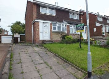 Thumbnail 3 bed semi-detached house to rent in Lotus Avenue, Knypersley, Stoke-On-Trent