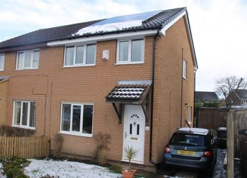 Thumbnail 3 bed semi-detached house for sale in Comfrey Close, Harrogate