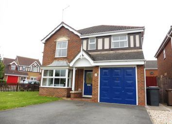 Thumbnail 4 bed detached house to rent in Sycamore Grove, Bracebridge Heath, Lincoln