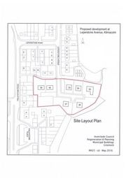 Thumbnail Land for sale in Plot 1 Quarry Gardens, Leperstone Avenue, Kilmacolm