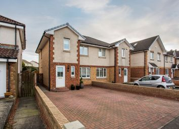 Thumbnail 3 bed semi-detached house for sale in 156 Hardridge Road, Glasgow