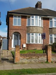 Thumbnail 3 bed semi-detached house to rent in Dereham Avenue, Ipswich