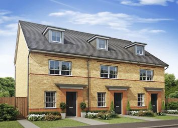 "Thumbnail 4 bed semi-detached house for sale in ""Queensville"" at The Ridge, London Road, Hampton Vale, Peterborough"