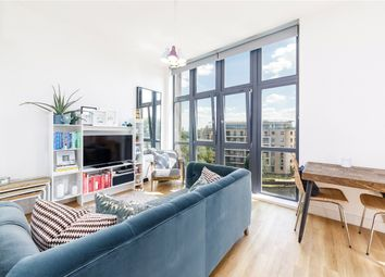 Thumbnail 1 bed flat for sale in Waterfront House, Harry Zeital Way, London