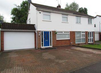 Thumbnail 3 bedroom semi-detached house for sale in Shallcross Drive, Cheshunt