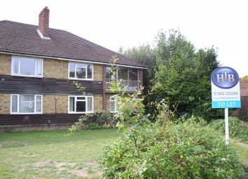 Thumbnail 2 bed flat to rent in Betley Court, Walton-On-Thames