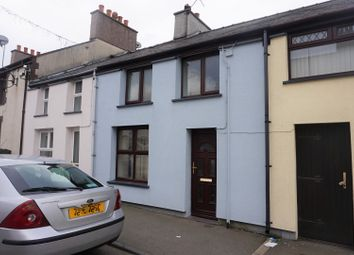 Thumbnail 3 bed terraced house for sale in High Street, Deiniolen