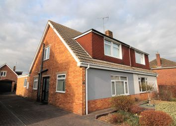 Thumbnail 4 bed semi-detached house for sale in Hurcombe Way, Brockworth, Gloucester