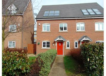 Thumbnail 4 bed semi-detached house for sale in Broomes Park, Oldham