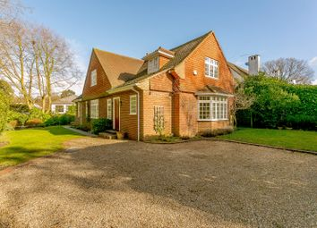 Thumbnail 3 bedroom detached house for sale in East Road, St. Georges Hill, Weybridge