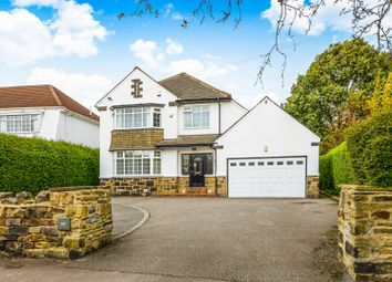 Thumbnail 4 bed detached house for sale in Alwoodley Lane, Leeds