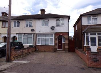 Thumbnail 3 bed end terrace house for sale in Hazelwood Road, Bedford, Bedfordshire