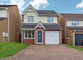 Thumbnail 3 bed detached house for sale in Clitheroe Gardens, Bedlington